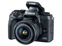 Canon EOS M5 + 18-150 mm IS STM + adaptér EF-EOS M,