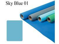 Fomei papírové pozadí 2,7x11m sky blue