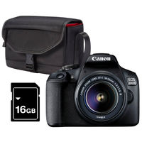 Canon EOS 2000D + 18-55 mm DC Value Up! Kit