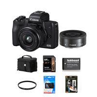 Canon EOS M50 + 15-45 mm + 22mm černý - Foto kit