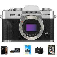 Fujifilm X-T30 tělo stříbrný - Foto kit