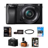 Sony Alpha A6100 + 16-50 mm černý - Foto kit