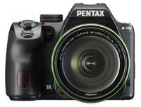 Pentax K-70 + 18-50 mm WR + 50-200 mm černý