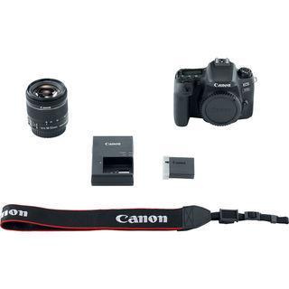 Canon EOS 77D + 18-55 mm IS STM - Základní kit