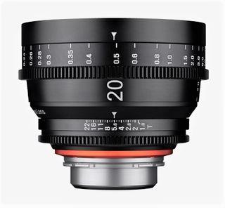 Samyang XEEN CINE 20 mm T/1,9 pro Canon EF