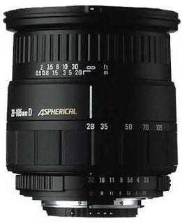 Sigma 28-105 mm F 2,8-4 ASP pro Nikon
