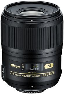 Nikon 60 mm f/2,8 G ED AF-S Micro