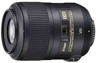 Nikon 85 mm f/3,5 AF-S G DX Micro VR