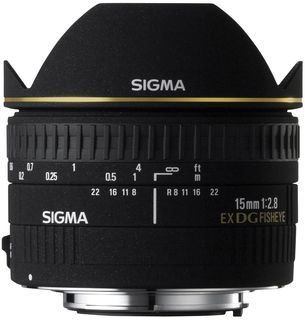 Sigma 15 mm f/2,8 EX DG DIAGONAL rybí oko pro Nikon