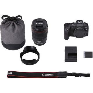 Canon EOS RP + 24-105 mm + EF-EOS R adaptér