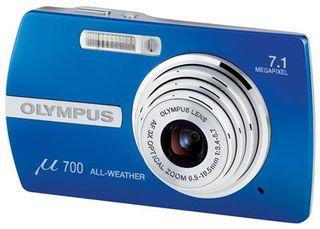 Olympus Mju 700 modrý
