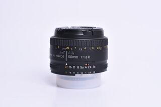 Nikon 50 mm F1,8 AF NIKKOR D bazar