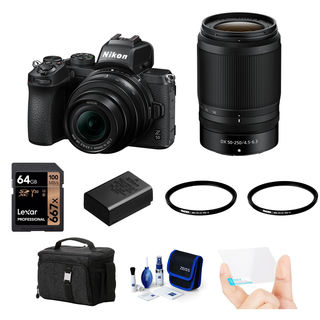 Nikon Z50 + 16-50 mm + 50-250 mm - Foto kit