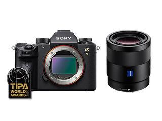 Sony Alpha A9 + FE 55 mm f/1,8 ZA Sonnar T