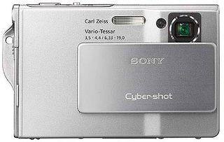 Sony DSC-T7 stříbrný