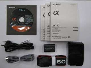 Sony Alpha A230 tělo