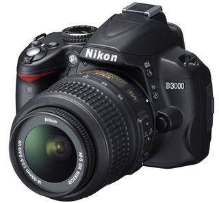Nikon D3000 + 18-55 mm VR