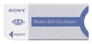 Sony redukce pro paměťovou kartu MSAC-M2N