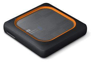 """Western Digital My Passport Wireless SSD 500GB, 2.5""""USB 3.0, černý"""