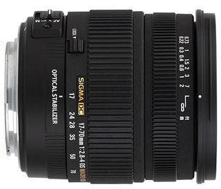 Sigma 17-70mm f/2,8-4,0 DC Macro OS HSM pro Canon