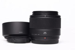Panasonic Lumix DG 25mm f/1,7 (H-H025ME-K) bazar