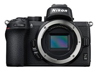Nikon Z50 + FTZ adaptér