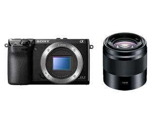 Sony Alpha A6000 tělo černý + 50 mm f/1,8 SEL