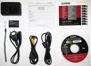 Casio EXILIM Z150 černý