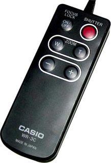 Casio dálkové ovládání WR 3C