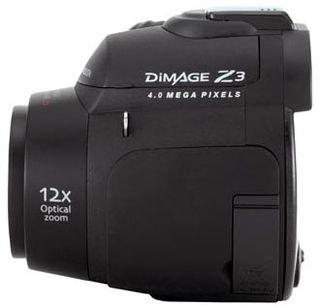 Konica Minolta DiMAGE Z3 černá