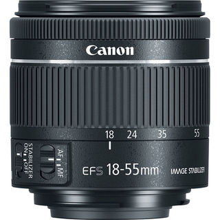 Canon EF-S 18-55 mm f/4-5.6 IS STM