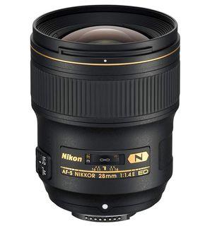 Nikon 28 mm f/1,4 E NIKKOR AF-S ED