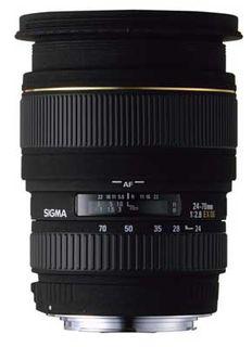 Sigma 24-70 mm F 2,8 EX DG MACRO pro Nikon + utěrka Sigma zdarma!