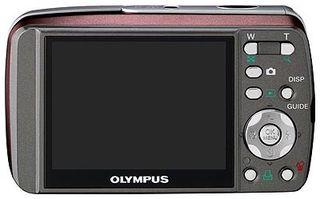 Olympus Mju 600 Digital červený