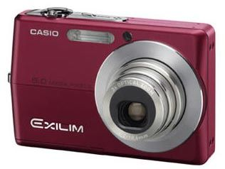 Casio EXILIM - Z500 červený