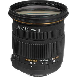 Sigma 17-50 mm f/2,8 EX DC OS HSM pro Nikon