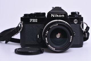 Nikon FE2 + 28 mm f/3.5 bazar