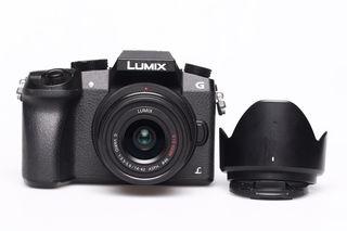 Panasonic Lumix DMC-G7 + 14-42 mm II bazar