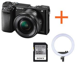 Sony Alpha A6000 + 16-50 mm Neváhej a toč!
