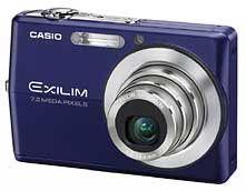 Casio EXILIM Z700 modrý
