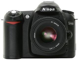Nikon D50 tělo