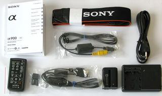 Sony Alpha A900 tělo