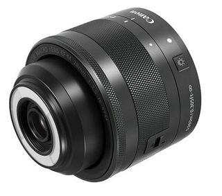 Canon EF-M 28 mm f/3,5 STM Macro s LED světlem