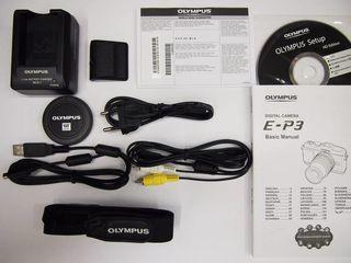 Olympus E-P3 tělo