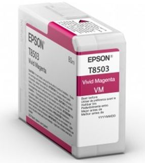 Epson Singlepack T850300 Photo Vivid Magenta UltraChrome HD - purpurová
