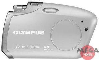 Olympus Mju MINI Digital stříbrný