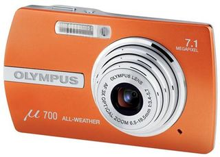 Olympus Mju 700 oranžový
