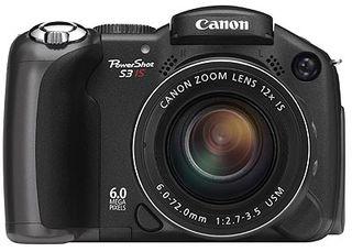 Canon PowerShot S3 IS + SW Zoner zdarma!