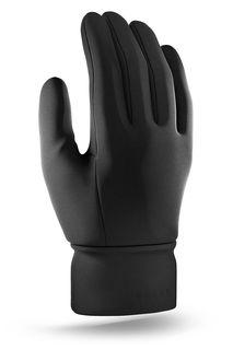 Mujjo dvouvrstvé dotykové rukavice, velikost XL černé