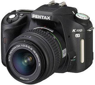 Pentax K110D + 18-55 mm + 50-200 mm